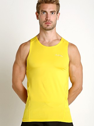 Private Structure BeFit Slinky Fitted Tank Top Yellow