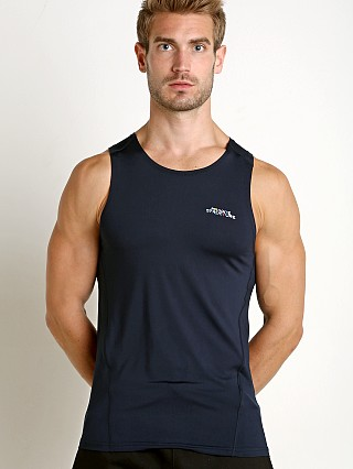 Private Structure BeFit Slinky Fitted Tank Top Navy