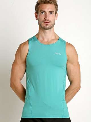Private Structure BeFit Slinky Fitted Tank Top Jade Green