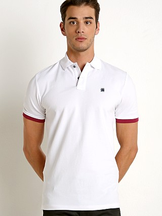 G-Star RC Core Polo Shirt White
