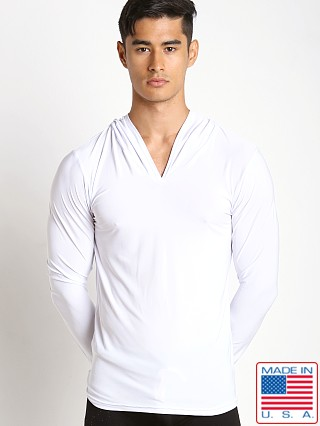 N2N Bodywear Dream Lounge Hoodie White