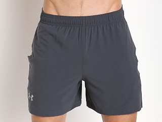"Under Armour Launch 5"" Running Short Stealth Grey"