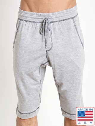Pistol Pete Elite Dropped Crotch Jammer Short Gray