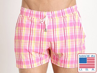 Pistol Pete Citron Swim Short Pink