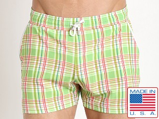 Pistol Pete Citron Swim Short Lime