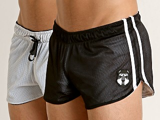 Cell Block 13 Kennel Club Reversible Short White/Black