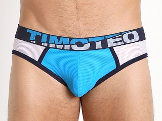 Timoteo Shockwave Mesh Athlete Jock Blue