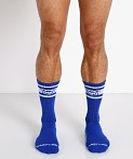 Nasty Pig Hook'd Up Sport Socks Surf Blue, view 2