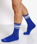 Nasty Pig Hook'd Up Sport Socks Surf Blue, view 3