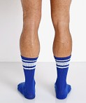Nasty Pig Hook'd Up Sport Socks Surf Blue, view 4