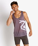 Nasty Pig Windshear Snout Tank Top Grey, view 2
