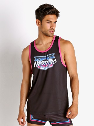 Model in black Nasty Pig Miami Nights Tank Top
