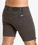 Nasty Pig Zipper Shorts Grey, view 4