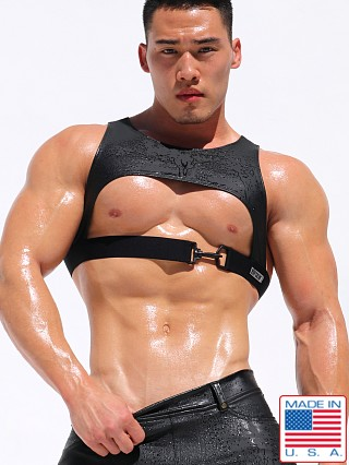 "Rufskin Zander Stretch ""Rubber"" Harness Black"