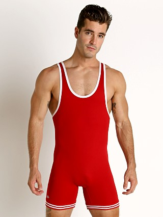 You may also like: Matman Classic Old School Nylon Wrestling Singlet Red/White