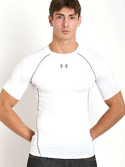 Under Armour Heatgear Shortsleeve Compression Tee White
