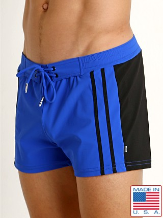 Sauvage Moderno Two-Tone Lycra Trunk Cobalt/Black
