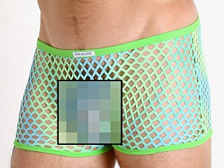 You may also like: Rick Majors Tie Dye Glitter Mesh Low Rise Trunk Lime/Blue