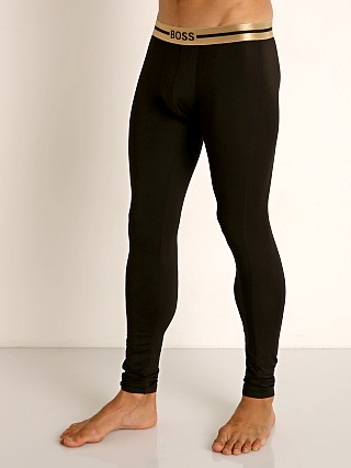 Model in black Hugo Boss Smooth Long John