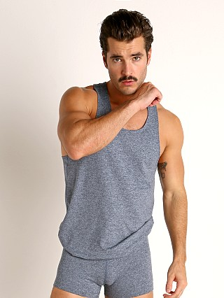 Complete the look: LASC Workout Tank Top Dark Blue Heather