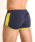 Jack Adams Track & Field Short Blue/Yellow, view 4