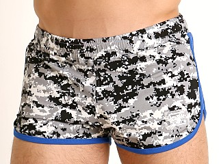 Jack Adams Track & Field Short Digital Camo/Blue