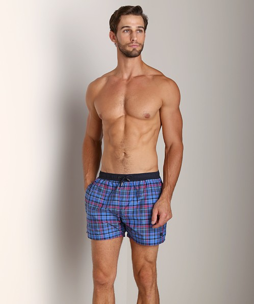 Hugo Boss Zebrafish Swim Shorts Blue