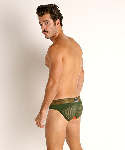2EROS NYX Mesh Panel Brief Deep Jungle