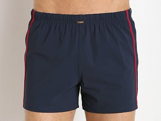 JM Waves Classic Loose Lycra Swim Trunk Navy