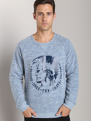 Diesel Scaae-R French Therry Sweat Shirt Ink