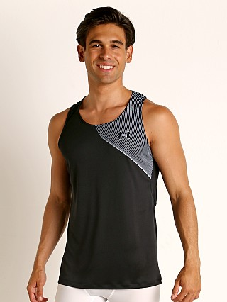 Under Armour Qualifier Iso-Chill Runner's Tank Top Black/Reflect