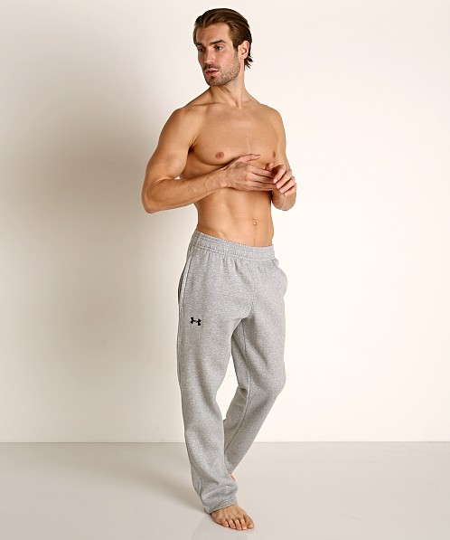 Under Armour Hustle Fleece Pant True Gray Heather