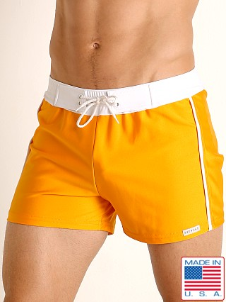 Sauvage Retro Lycra Swimmer Orange