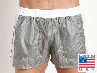 Pistol Pete Skydive Onion Skin Nylon Short Charcoal