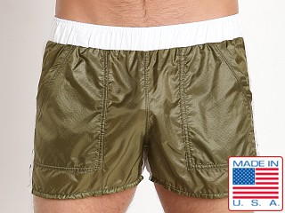 Pistol Pete Skydive Onion Skin Nylon Short Olive
