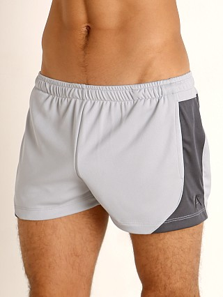 You may also like: LASC Pique Mesh Lined Running Shorts Silver/Charcoal