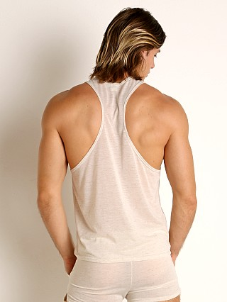 Complete the look: LASC Slub Jersey Workout Tank Top Natural