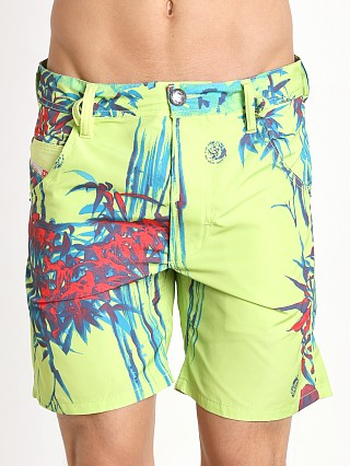 Diesel Kroobeach Board Shorts White/Green