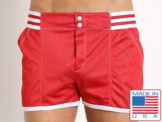 Pistol Pete Varsity Short w/Lining Red