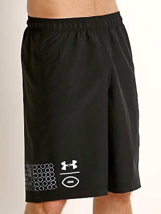 Complete the look: Under Armour Football Practice Short Black/White
