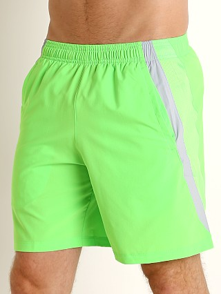 Under Armour Launch 7'' Short Zap Green/Reflective