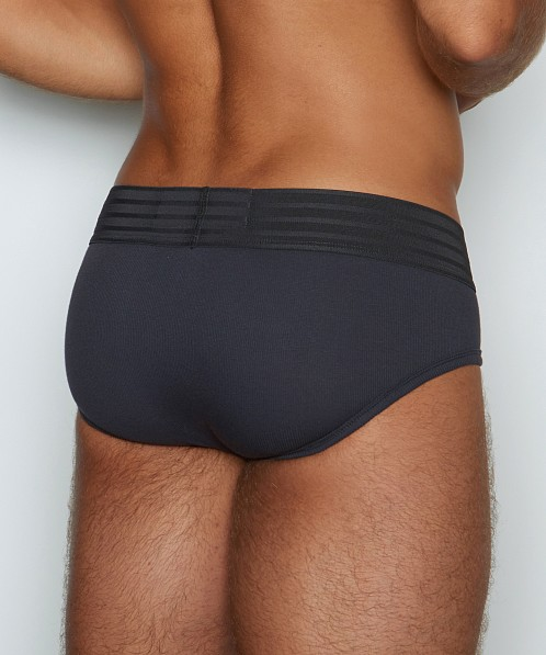 C-IN2 Hard//Core Fly Front Brief Flanker Grey