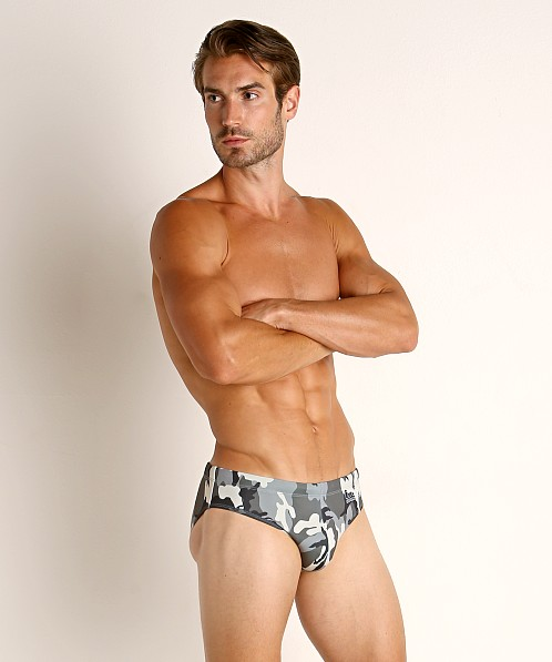 Diesel Jack Swim Briefs Grey Camo