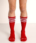Nasty Pig Hook'd Up Sport Socks Red, view 2