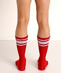 Nasty Pig Hook'd Up Sport Socks Red, view 4