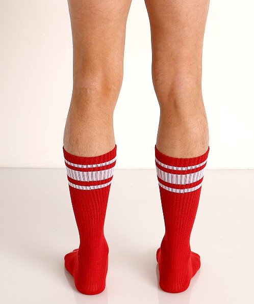 Nasty Pig Hook'd Up Sport Socks Red
