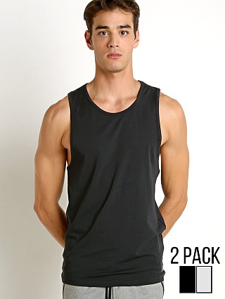 Under Armour Original Tank Top 2-Pack Grey Heather/Stealth Grey