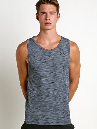Under Armour Threadborne Seamless Tank Top Graphite/Black