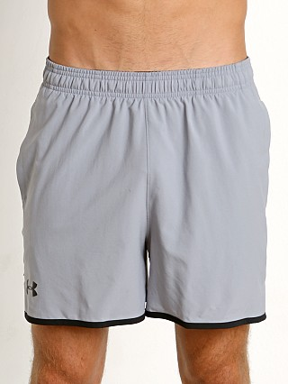 "Under Armour Qualifier 5"" Woven Short Steel"