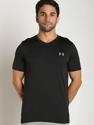 Under Armour Tech V-Neck Shortsleeve Tee Black